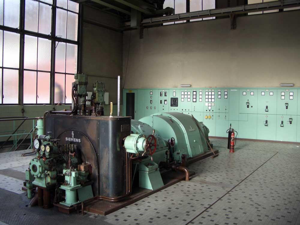 Kesselhaus Turbine